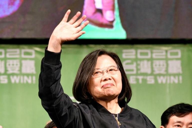 Presidenta de Taiwán, crítica con Pekín, logra amplia victoria en elecciones