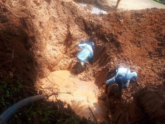Centro de La Chorrera sin agua, al igual que Alanje y Boquerón en Chiriquí