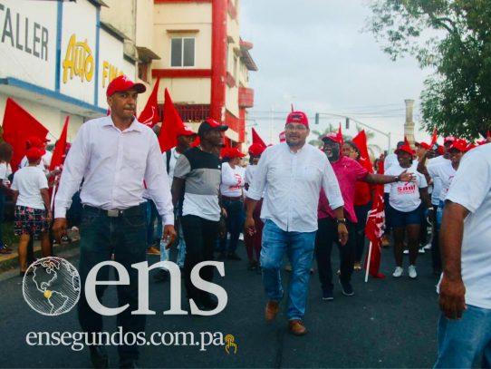 Saúl Méndez promete hacer justicia para el pueblo