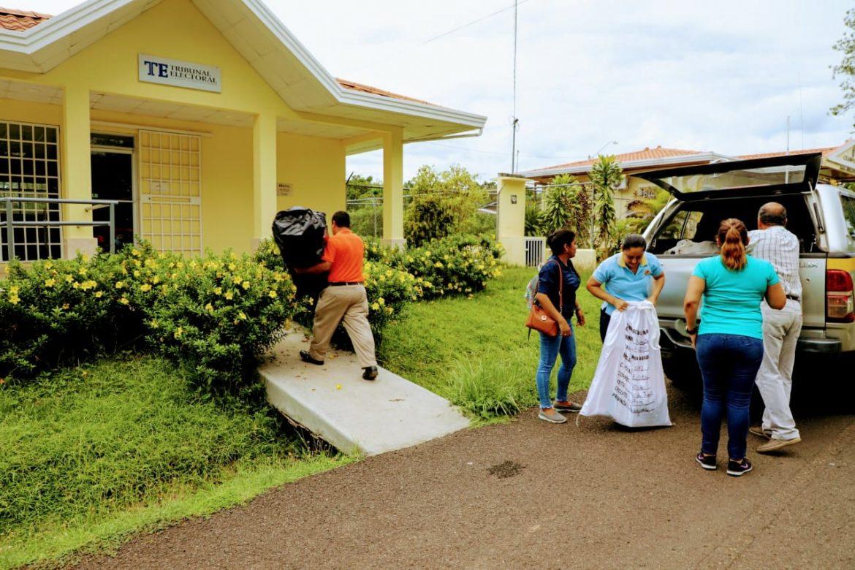 Realizan elecciones parciales en el corregimiento de Utira, provincia de Veraguas
