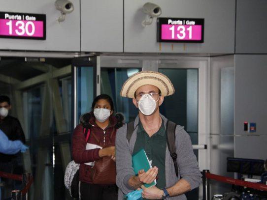 Regresan al país 227 panameños procedentes de Europa
