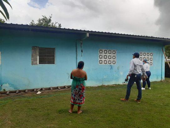 Evalúan casas afectadas por sismo en Chiriquí