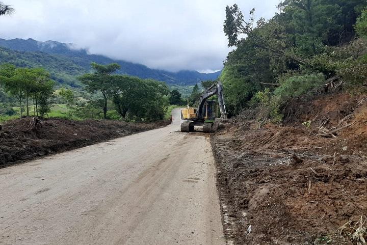 MOP Chiriquí reabre vía alterna hacia Chiriquicito de Hornito