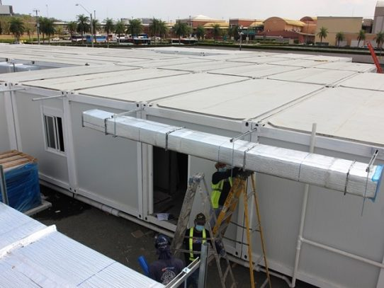 Nuevo Hospital modular COVID-19 lleva un 71% de avance