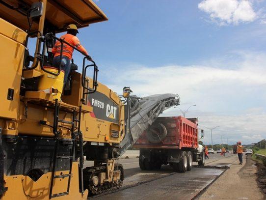 Rehabilitación de la Autopista Arraiján-La Chorrera debe culminar en febrero de 2021