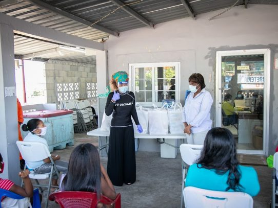 Gobierno distribuye ayuda a madres lactantes del distrito de San Miguelito