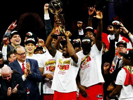 Los Raptors de Toronto triunfan por primera vez en final de la NBA