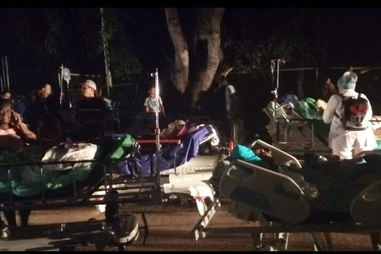 Bomberos controlan incendio en Hospital de Chepo