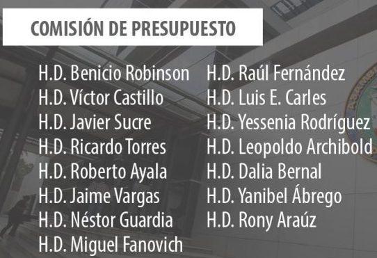 Comisiones de Presupuesto, Credenciales y Gobierno quedan dirigidas por diputados del PRD