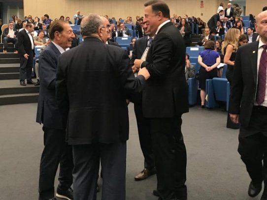 Varela presente en acto del Parlatino en recuerdo de la tragedia ALAS
