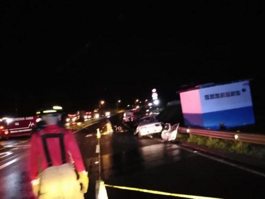 Tres personas fallecen en La Peña de Veraguas tras aparatoso accidente