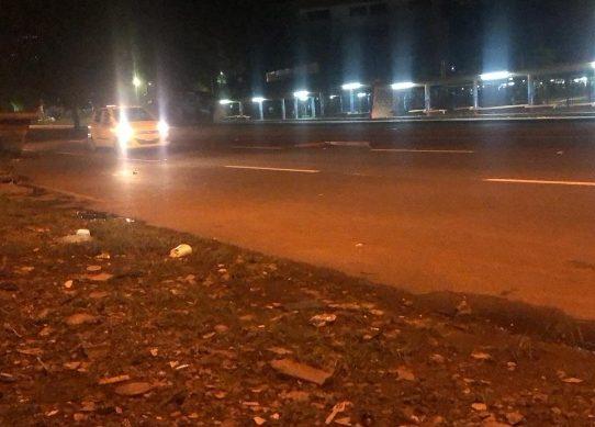 Estudiantes de la UP se retiran de la Vía Transístmica tras ocho horas de protesta