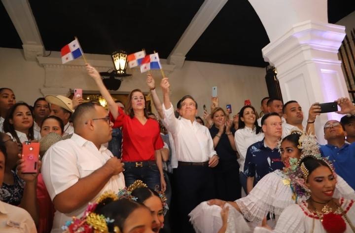 Cortizo inicia agenda de Fiestas Patrias con tradicionales Dianas
