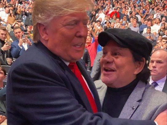 Trump y El Cholo Durán, un sorpresivo encuentro en Madison Square Garden
