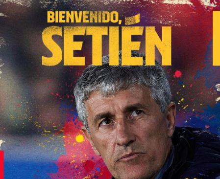 Barcelona y Ernesto Valverde sellan un divorcio anunciado, Setién el relevo