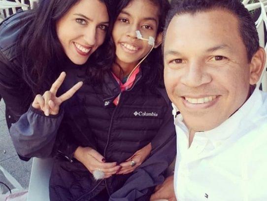 Fallece la niña Andrea Quijada