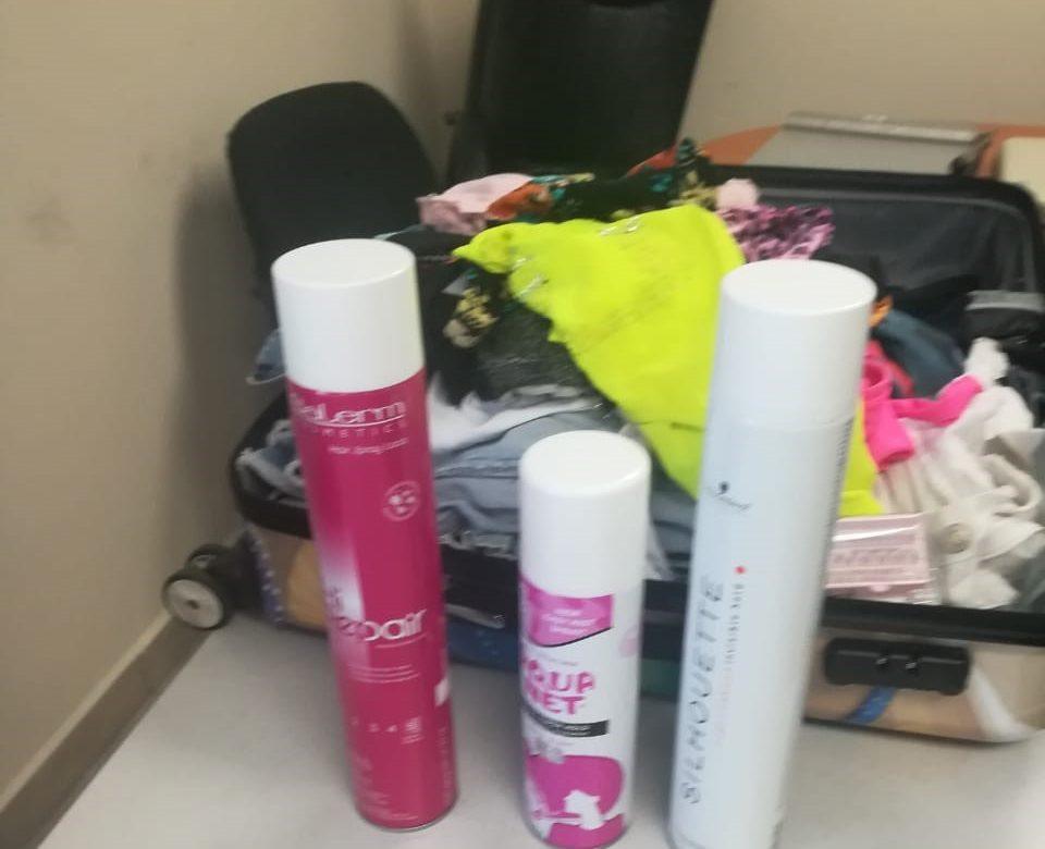 Intentaron introducir droga en envases de aerosol por aeropuerto de Tocumen
