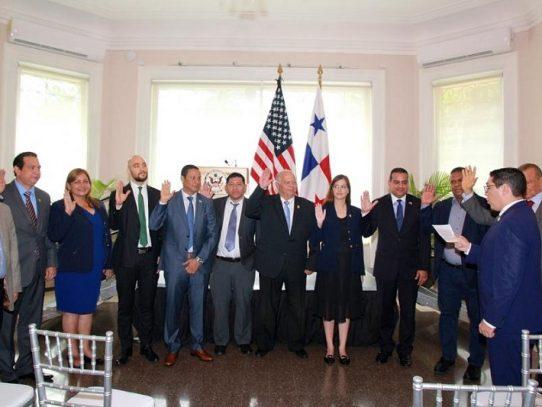 Panamá y Estados Unidos juramentan grupo de amistad interparlamentaria