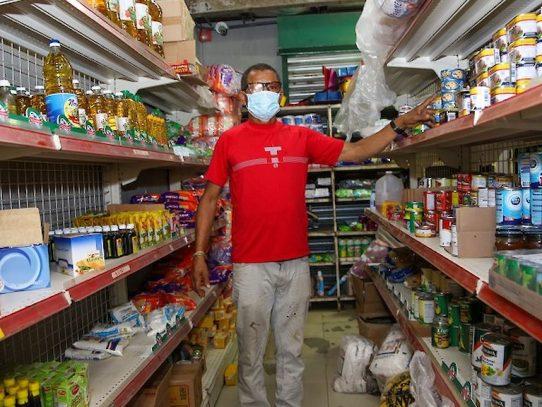 Gobierno abasteció tienda que fue saqueada en Curundú