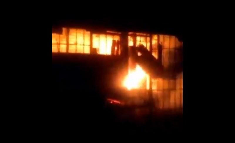 Depósito de madera se incendia en Chitré