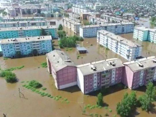 Doce personas muertas tras Inundaciones en Rusia