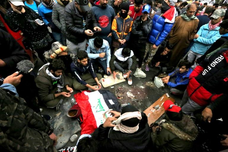 Miles de iraquíes vuelven a las calles tras matanza de 20 civiles en Bagdad