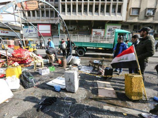 Fuerzas de seguridad desalojan en Irak a manifestantes