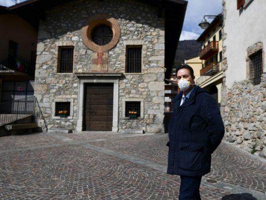 El pueblo mártir de Italia, con seis veces más muertes que en un año normal