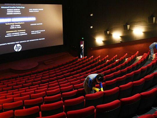 El sector cultural protesta contra el cierre de cines en Italia