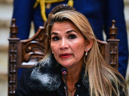 Presidenta de Bolivia se contagió de coronavirus
