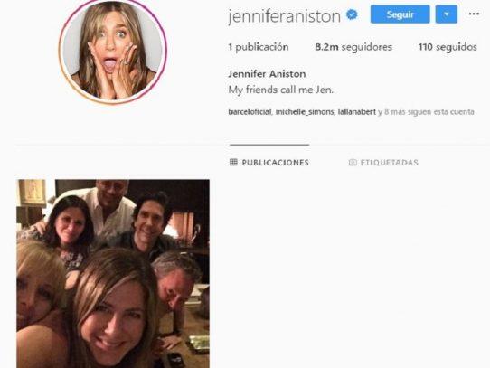 Cuenta de Instagram de Jennifer Aniston colapsa con su primera publicación