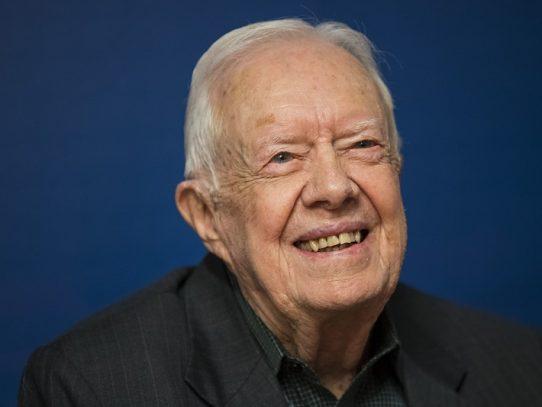 Expresidente de EEUU Jimmy Carter vuelve a ser hospitalizado