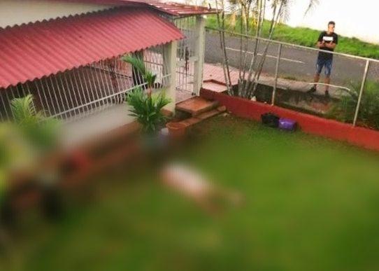 Encuentran muerto a un hombre en el patio de una casa en Arraiján