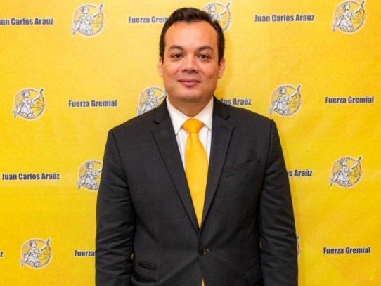Juan Carlos Araúz, nuevo presidente del Colegio de Abogados