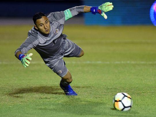 Keylor Navas vuelve a selección de Costa Rica para fogueo con Uruguay