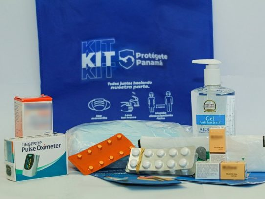 Distribuyen los 'kit Protégete Panamá' en albergues y hoteles hospitales