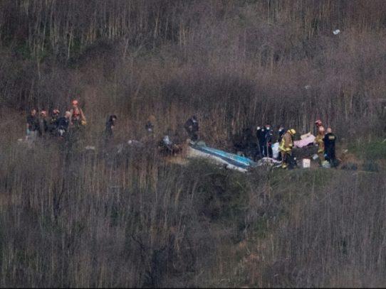 Recuperados los 9 cuerpos del accidente en el que murió Kobe Bryant