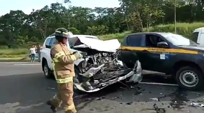 Accidente del auto de monseñor Lacunza