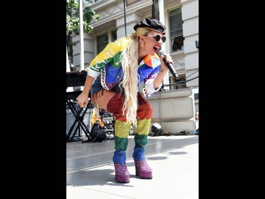 Lady Gaga, una presencia sorpresa en la conmemoración de Stonewall en Nueva York