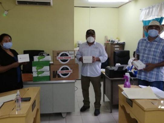 Entregan 500 pruebas serológicas en La Pintada