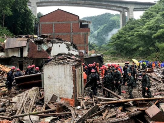 El balance por el tifón Lekima en el este de China aumenta a 32 muertos