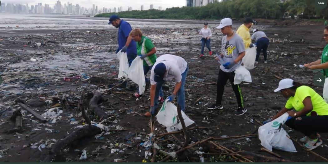 Realizan limpieza de playas para determinar los tipos de materiales contaminantes