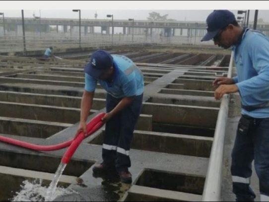 Idaan: Potabilizadora de Chilibre opera al 90% por limpieza de filtros