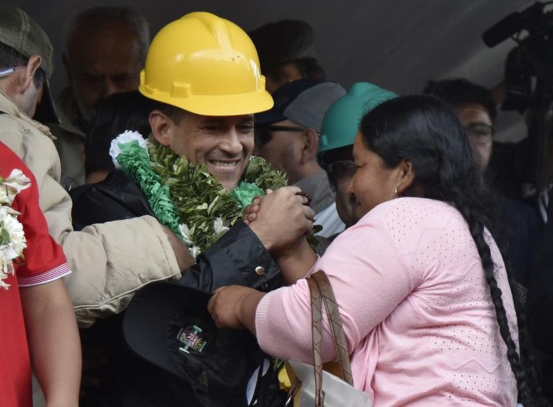 Opositor Camacho busca aliados para forzar la renuncia a Evo Morales