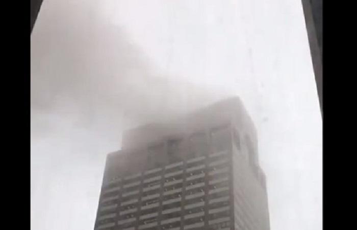 Un muerto en aterrizaje brutal de helicóptero en Manhattan