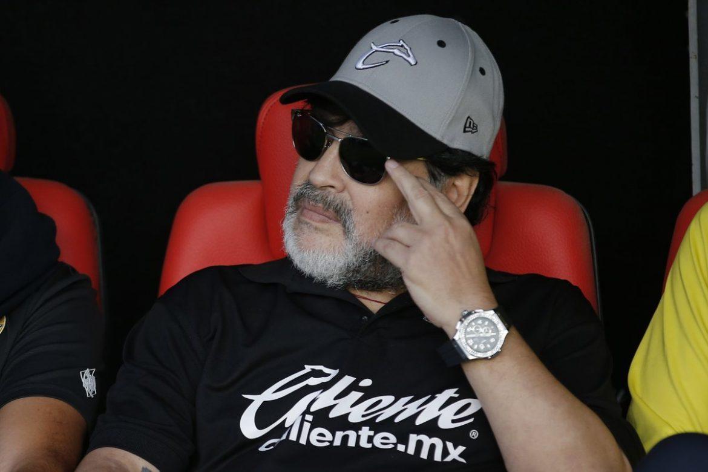 """Maradona niega padecer alzhéimer: """"Con las enfermedades, no"""""""