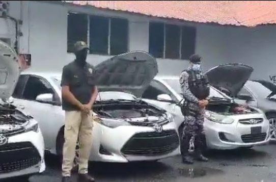 En operación 'Marfil' recuperan 10 autos en la provincia de Colón