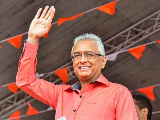 El primer ministro de Mauricio obtuvo mayoría absoluta en las elecciones legislativas