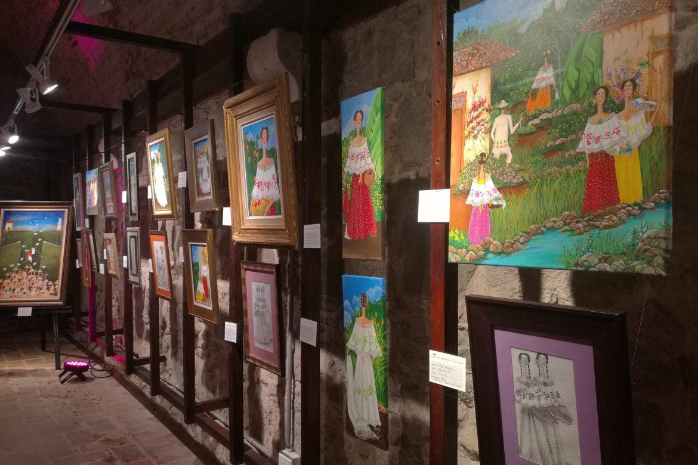 Con exposición pictórica de 40 obras rinden homenaje al artista Mayo Hassán