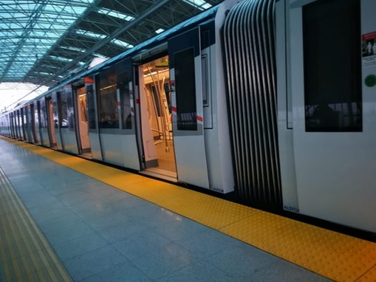 Línea 2 del Metro ofrece servicio parcial entre sus estaciones